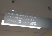 Directional SIGNS - TEMPERED GLASS (2)