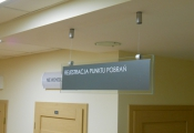 Directional SIGNS - TEMPERED GLASS