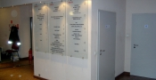 Directory sign - tempered glass - (3)