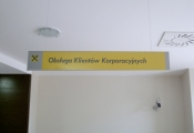 Suspended RHYTHM directional Sign (3)
