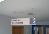 Suspended RHYTHM directional Sign (5)