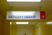 Suspended RHYTHM directional Sign