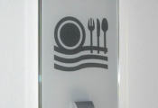 Pictogram Signs - GLASS series VISUAL INFORMATION- (2)